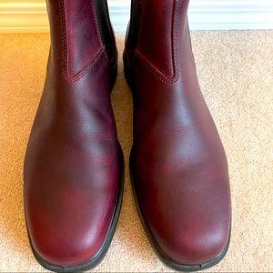 Men's Size 11 Blundstone Burgundy Boots